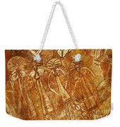 Australia Ancient Aboriginal Art 3 Weekender Tote Bag