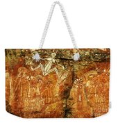 Australia Ancient Aboriginal Art 2 Weekender Tote Bag