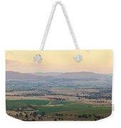Australian Country Panorama Weekender Tote Bag