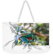 Australian King Parrot Weekender Tote Bag