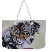 Australian Sheepdog Weekender Tote Bag