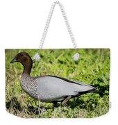 Australian Wood Duck Weekender Tote Bag