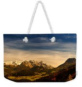 Austrian Autumn Scenic Panorama Weekender Tote Bag