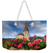 Austrian Church Weekender Tote Bag