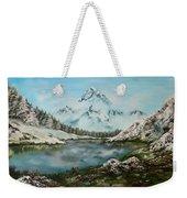 Austrian Lake Weekender Tote Bag