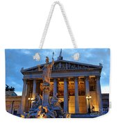 Austrian Parliament Building Weekender Tote Bag by Mariola Bitner