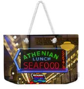 Authentic Lunch Seafood Weekender Tote Bag