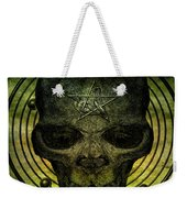 Authentic Skull Of The Vampire Callicantzaros Weekender Tote Bag