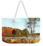 Autmn Pond Closer Look Weekender Tote Bag