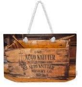Auto Knitter Box Weekender Tote Bag