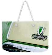 Auto Union Dkw Hood Emblem Weekender Tote Bag