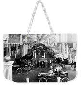 Automobile Display, 1904 Weekender Tote Bag