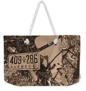 Automobile Graveyard Weekender Tote Bag