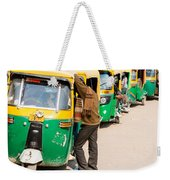 Autorickshaw Row Weekender Tote Bag