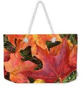 Autum Leaves Weekender Tote Bag