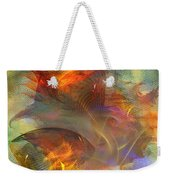 Autumn Ablaze - Square Version Weekender Tote Bag
