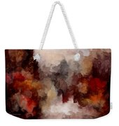 Autumn Abstract Weekender Tote Bag