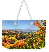 Autumn Across The Hills Weekender Tote Bag