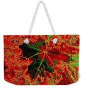 Autumn All Ablaze Weekender Tote Bag