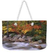 Autumn Along Swift River  Weekender Tote Bag
