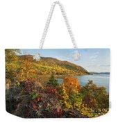 Autumn Along The Hudson Weekender Tote Bag
