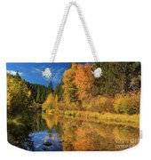 Autumn Along The Susan River Weekender Tote Bag