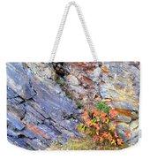 Autumn And Rocks Vertical Weekender Tote Bag
