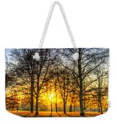 Autumn Arrives Weekender Tote Bag