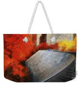 Autumn At Chicago Millennium Park Bp Bridge Mixed Media 03 Weekender Tote Bag