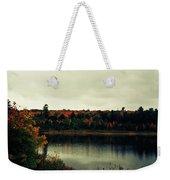 Autumn At Deer Lake Weekender Tote Bag