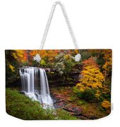 Autumn At Dry Falls - Highlands Nc Waterfalls Weekender Tote Bag