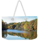 Autumn At Durand Weekender Tote Bag