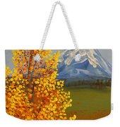Autumn At Mt Shasta Weekender Tote Bag