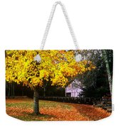 Autumn At Old Mill Weekender Tote Bag
