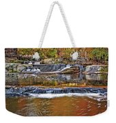 Autumn At Olmsted Falls Weekender Tote Bag