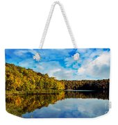 Autumn At Sailboat Cove Weekender Tote Bag