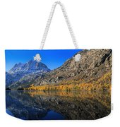 Autumn At Silver Lake Weekender Tote Bag