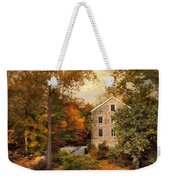 Autumn At Stone Mill Weekender Tote Bag