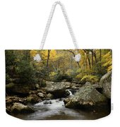 Autumn At Stony Creek Weekender Tote Bag