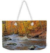 Autumn At The Black River Weekender Tote Bag