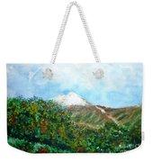 Autumn At The Foot Of Mount Elbrus Weekender Tote Bag