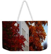 Autumn At The Grants Pass Courthouse Weekender Tote Bag