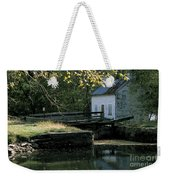 Autumn At The Lockhouse Weekender Tote Bag