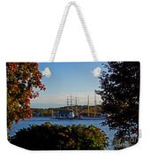 Autumn At The Seaport Weekender Tote Bag