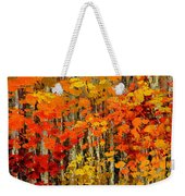 Autumn Banners Weekender Tote Bag