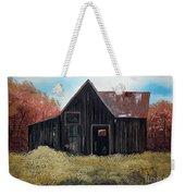 Autumn - Barn -orange Weekender Tote Bag