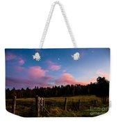 Autumn Barnyard Sunset Weekender Tote Bag