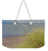 Autumn Beach Grasses Weekender Tote Bag