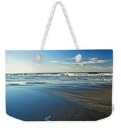 Relaxing Autumn Beach  Weekender Tote Bag