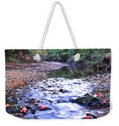 Autumn Begins Weekender Tote Bag by Frozen in Time Fine Art Photography